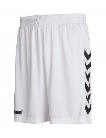 Short Core blanc/noir Hummel | Le spécialiste handball espace-handball.com