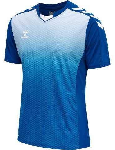 Maillot Core XK Sublimé Hummel Bleu | Le spécialiste handball espace-handball.com