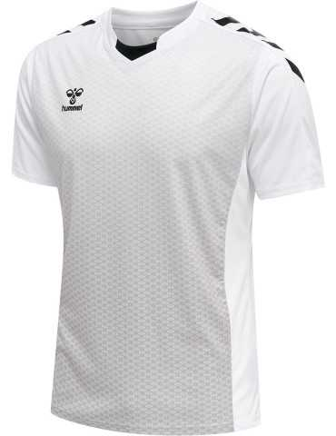 Maillot Core XK Sublimé Hummel Blanc | Le spécialiste handball espace-handball.com