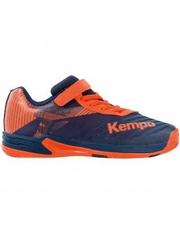 Chaussures Wing Junior Kempa Orange | Le spécialiste handball espace-handball.com