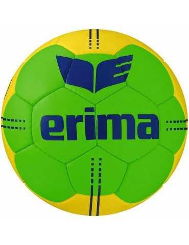 Ballon Handball Pure Grip n°4 Erima Vert/Jaune | Le spécialiste handball espace-handball.com