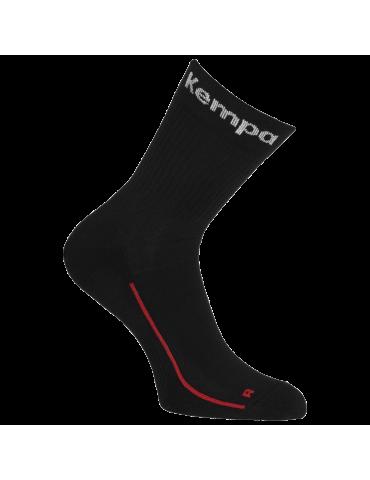 Lot de 3 chaussettes Team Classic Kempa Noir | Le spécialiste handball espace-handball.com