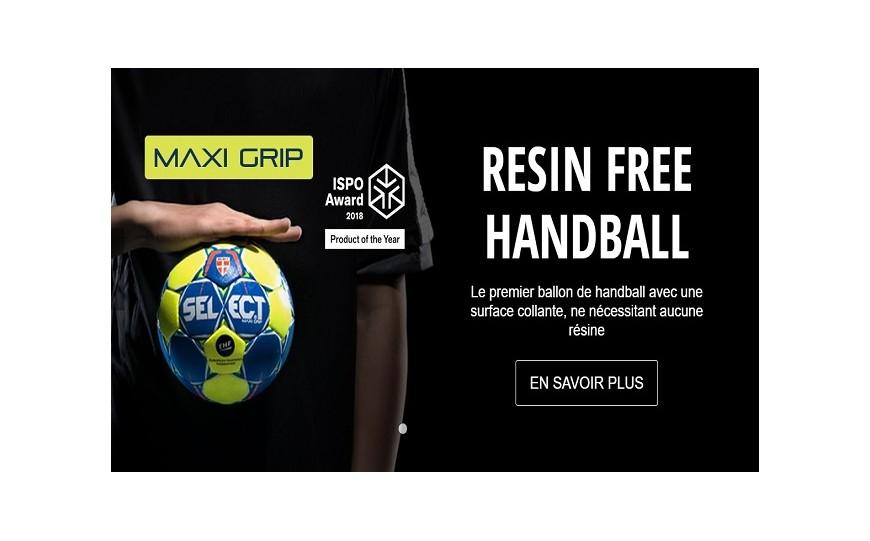 Le Ballon SELECT MAXI GRIP a remporté le prix ISPO 2018 du « produit de l'année »