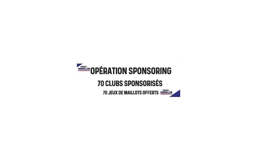 Opération sponsoring espace-Handball | Inscrivez votre club et recevez un jeu de maillot Hummel en dotation